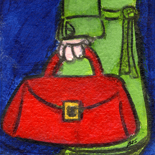 Green Trench, Red Bag