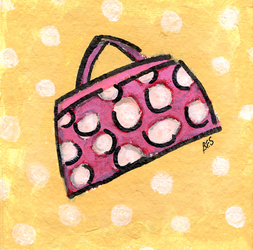 Polka Dot Purse