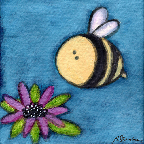 Bumble Bee Blossom