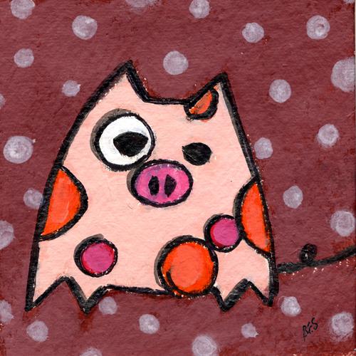 Polka Dot Piglet