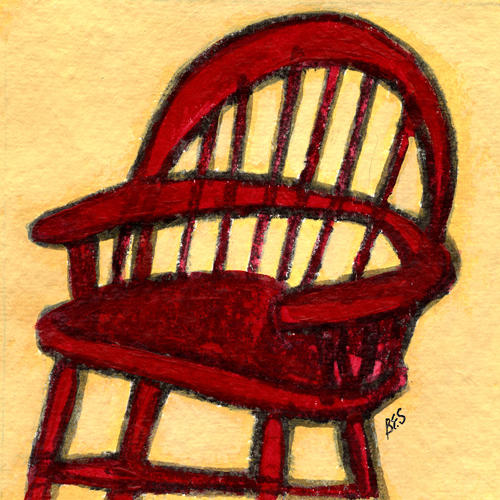 Patty's Red Chair
