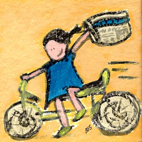 Herald Statesman Papergirl