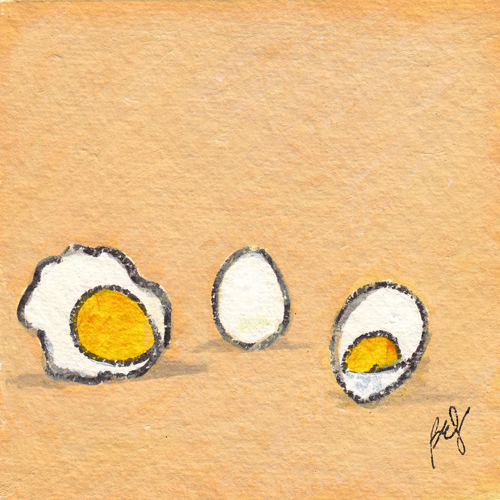 Fried Egg, Boiled Egg, Deviled Egg