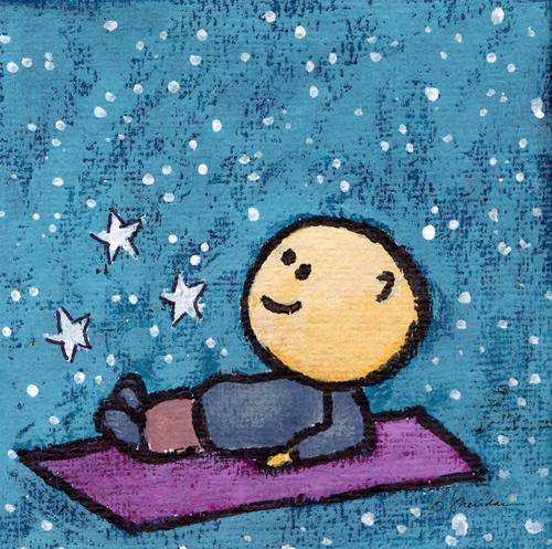 Bobby Loves to Stargaze