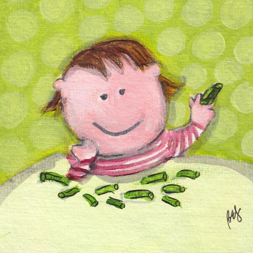 Madeleine Loves Green Beans