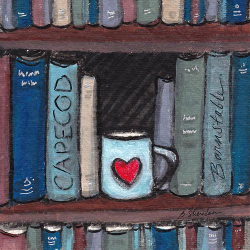 Cape Bookshelf