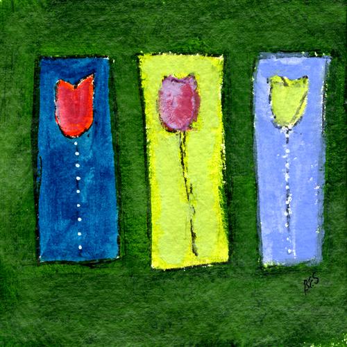 Triple Tulips