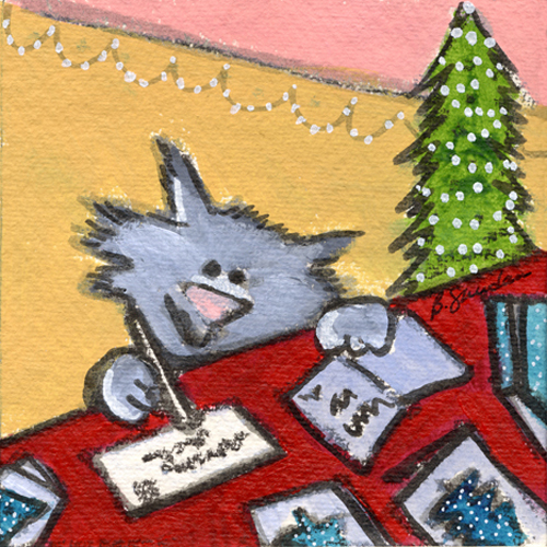 Kitty Christmas Cards