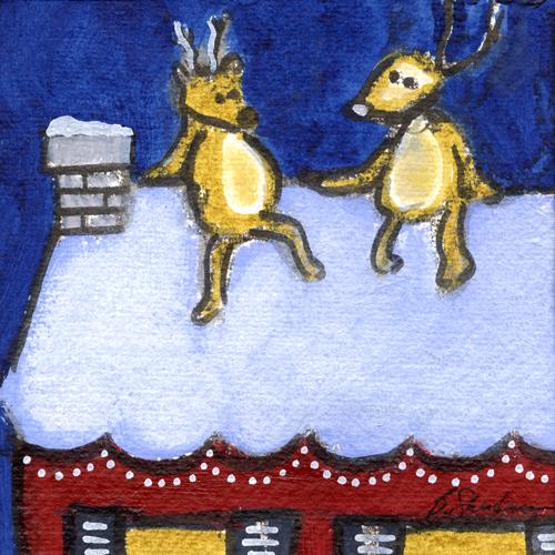Reindeer on Break