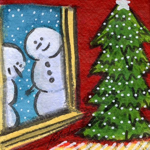 Snowmen Love Christmas Too