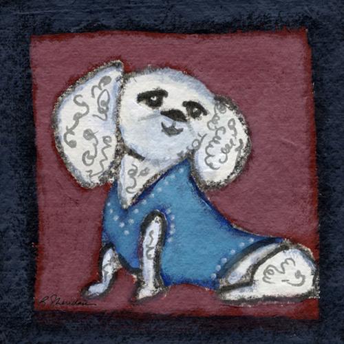 Preppy Poodle