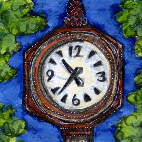 Bank of New York Clock