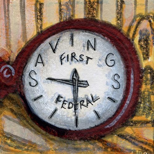 First Federal Clock, Bronxville