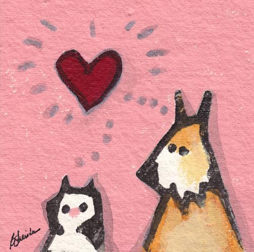 Cat, Dog, Love