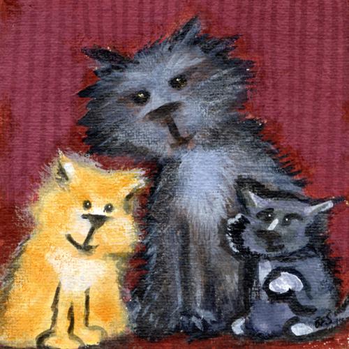 Amber, Mischief & Thumper