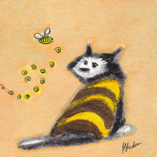 Bumble Bee Kitty