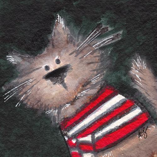 Fluffy Stripes