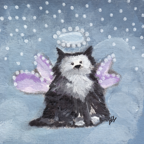 Guardian Angel Kitty