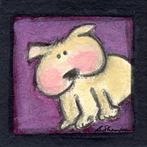 Blushing Bulldog
