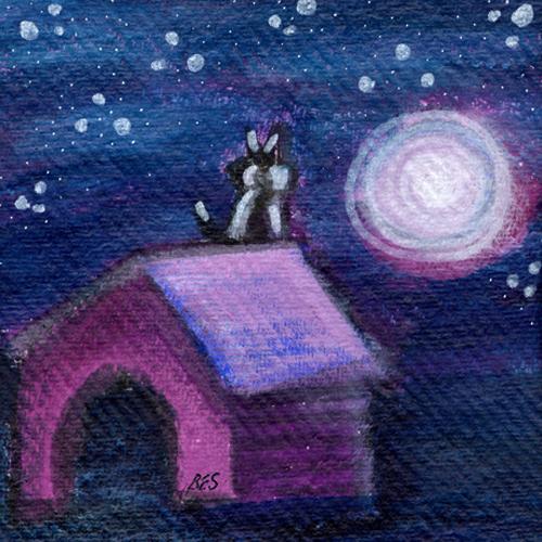 Moonlight Kitty