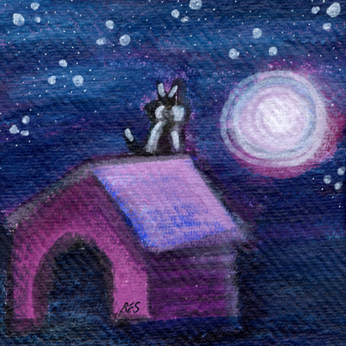 Moonlight Kitty