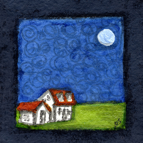 Moonlit Cottage